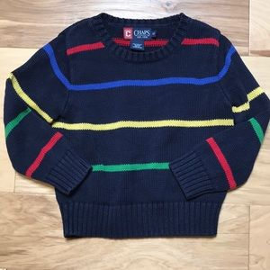 Chaps Sz 3T pullover sweater